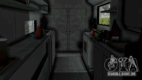 GTA 5 Tacovan para GTA San Andreas vista direita
