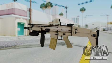 Arma2 MK16 Holo para GTA San Andreas segunda tela