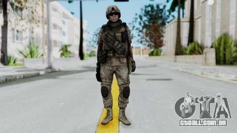 Crysis 2 US Soldier 1 Bodygroup B para GTA San Andreas segunda tela