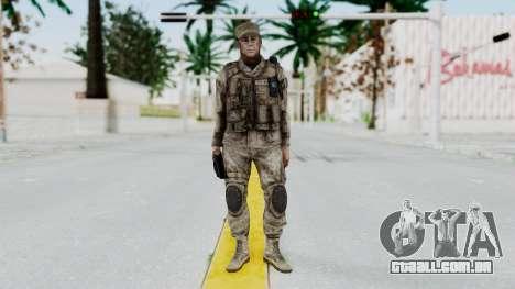 Crysis 2 US Soldier 5 Bodygroup A para GTA San Andreas segunda tela
