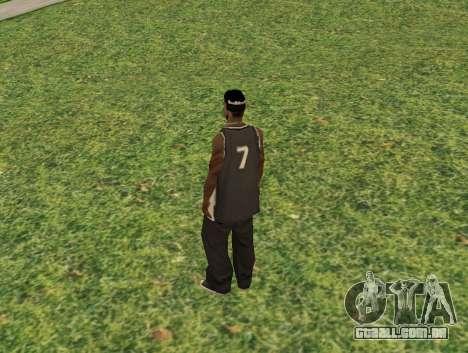 Black fam3 para GTA San Andreas segunda tela