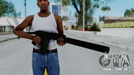 9A-91 Suppressor para GTA San Andreas terceira tela
