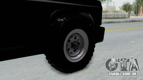 Aro 240 1996 para GTA San Andreas traseira esquerda vista