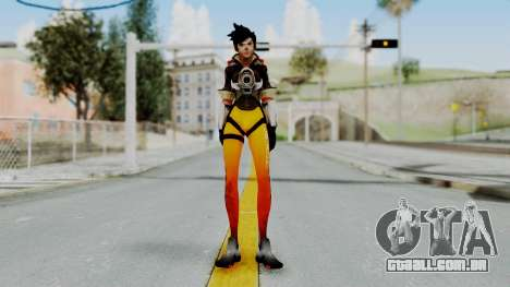 Tracer - Overwatch para GTA San Andreas segunda tela