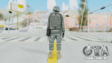 Acu Soldier 5 para GTA San Andreas terceira tela