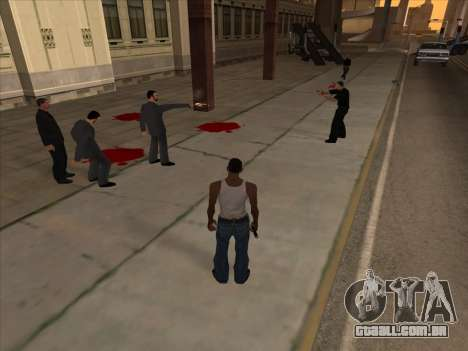 Os russos, no distrito Comercial v2 para GTA San Andreas por diante tela