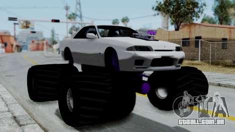 Nissan Skyline R32 Monster Truck para GTA San Andreas