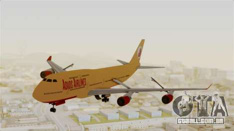GTA 5 Jumbo Jet v1.0 Adios Airlines para GTA San Andreas
