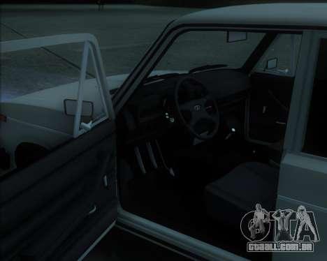 VAZ 2106 Stoke para GTA San Andreas esquerda vista