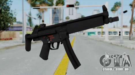 Arma AA MP5A5 para GTA San Andreas