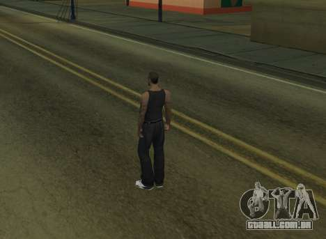 Black Cesar para GTA San Andreas segunda tela