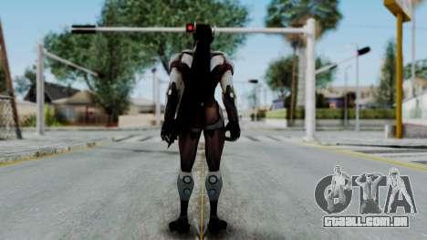 Genji - Overwatch para GTA San Andreas terceira tela