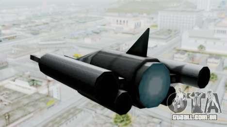 TCFU Spaceship para GTA San Andreas vista direita