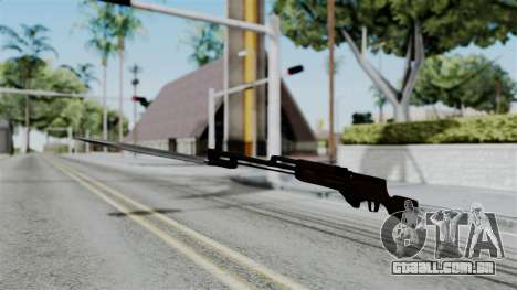 No More Room in Hell - Simonov SKS para GTA San Andreas segunda tela