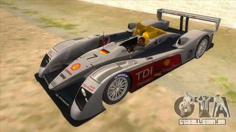 Audi R10 para GTA San Andreas