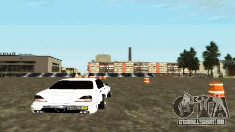 Nissan Cedric WideBody para GTA San Andreas vista direita