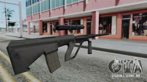Vice City Beta Steyr Aug para GTA San Andreas segunda tela