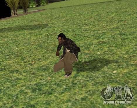 Black fam2 para GTA San Andreas terceira tela
