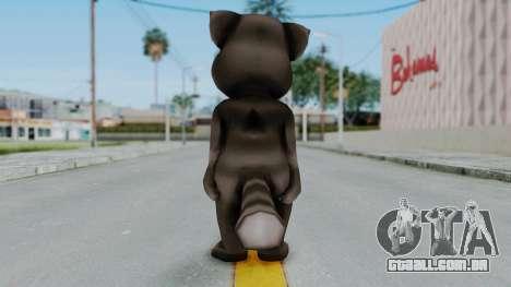 Tom (Adult) from My Talking Tom para GTA San Andreas terceira tela