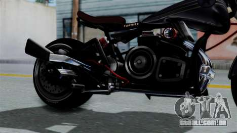 Turbike 2.0 para GTA San Andreas vista direita