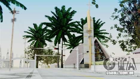Vegetation Ultra HD para GTA San Andreas por diante tela