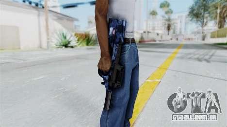 P90 Camo3 para GTA San Andreas terceira tela