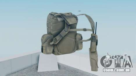 Arma 2 Backpack para GTA San Andreas segunda tela