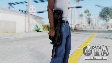 P90 Camo2 para GTA San Andreas terceira tela