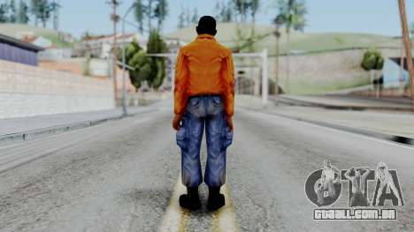 CS 1.6 Hostage 03 para GTA San Andreas terceira tela