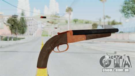Double Barrel Shotgun Orange Tint (Lowriders CC) para GTA San Andreas terceira tela