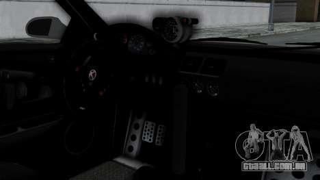 GTA 5 Karin Sultan RS Drift Double Spoiler PJ para GTA San Andreas vista direita