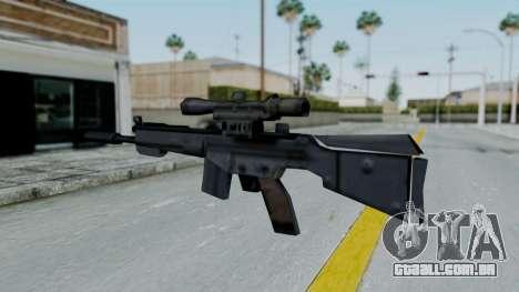 Vice City PSG-1 para GTA San Andreas segunda tela