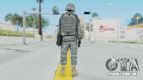 Acu Soldier 2 para GTA San Andreas terceira tela