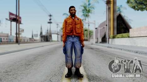CS 1.6 Hostage 03 para GTA San Andreas segunda tela