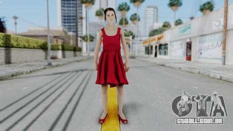 Hermione Dress para GTA San Andreas segunda tela