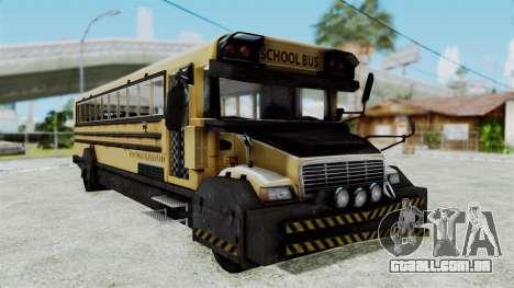 Armored School Bus para GTA San Andreas