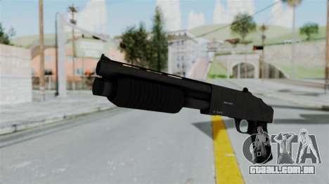 GTA 5 Sawnoff Shotgun para GTA San Andreas segunda tela