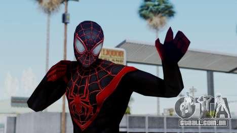 Marvel Future Fight Spider Man Miles v2 para GTA San Andreas