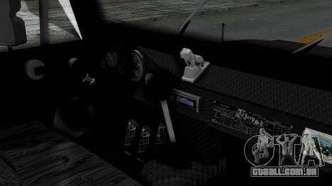 Jeep con Estacas Stylo Colombia para GTA San Andreas vista direita