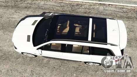 GTA 5 Mercedes-Benz GL63 (X166) AMG voltar vista