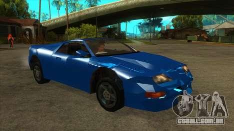 GTA LCS Deimos SP para GTA San Andreas vista traseira