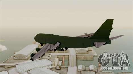 GTA 5 Jumbo Jet v1.0 para GTA San Andreas vista direita