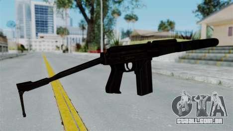 9A-91 Suppressor para GTA San Andreas segunda tela