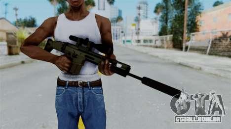 SCAR-20 v1 Supressor para GTA San Andreas terceira tela