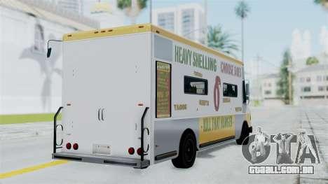 GTA 5 Tacovan para GTA San Andreas esquerda vista