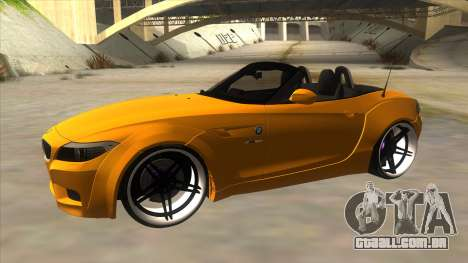 BMW Z4 Liberty Walk Performance para GTA San Andreas esquerda vista