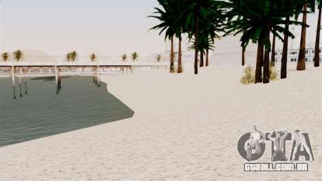 New Beach Textures para GTA San Andreas