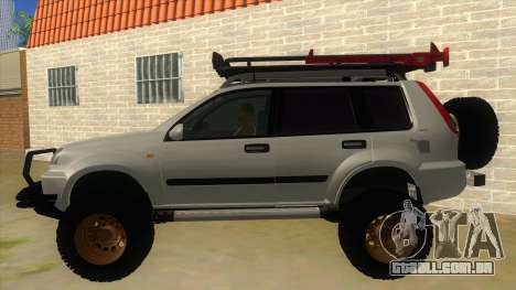 Nissan X-Trail 4x4 Dirty by Greedy para GTA San Andreas esquerda vista