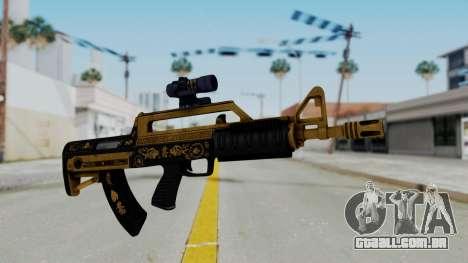 GTA 5 Online Lowriders DLC Bullpup Rifle para GTA San Andreas