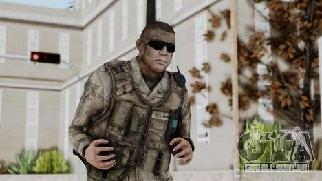 Crysis 2 US Soldier 2 Bodygroup A para GTA San Andreas